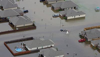 FILE - 2016 Louisiana flooding