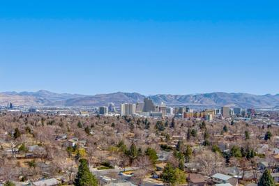 FILE - Reno Nevada Aerial