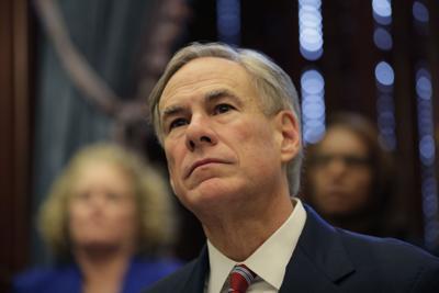 FILE - Texas Gov.Greg Abbott