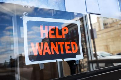 FILE - Help Wanted Unemployment