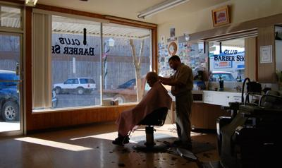 FILE - barber shop, licensing reform, occupational licensing
