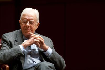 FILE - President Jimmy Carter
