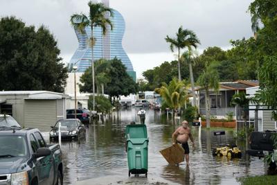 FILE - Tropical Weather Florida