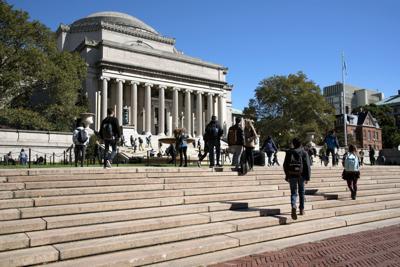 FILE - NY Columbia University
