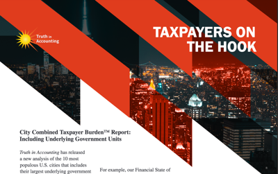 FILE - Turth in Accounting city taxpayer burden
