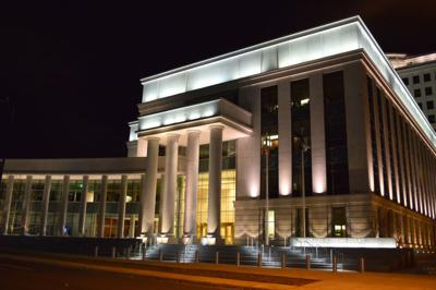 FILE - Colorado Supreme Court building