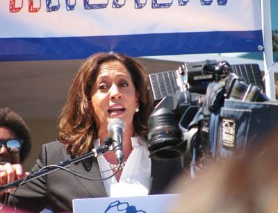 FILE - U.S. Senator Kamala Harris, D-California