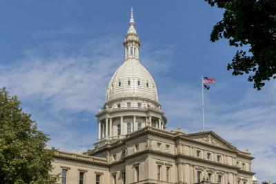 FILE - Michigan State Capitol