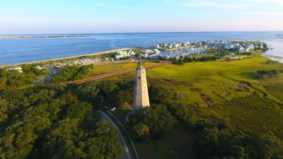 FILE - Bald Head Island, North Carolina