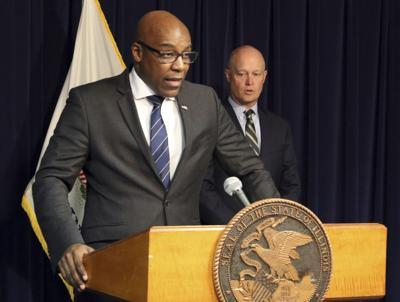FILE - Attorney General Kwame Raoul