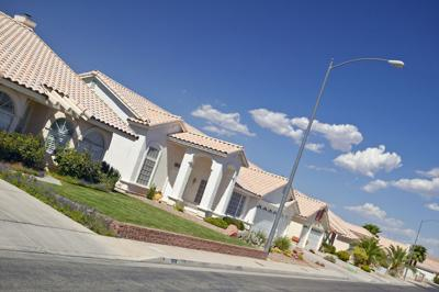 FILE - Nevada new housing construction