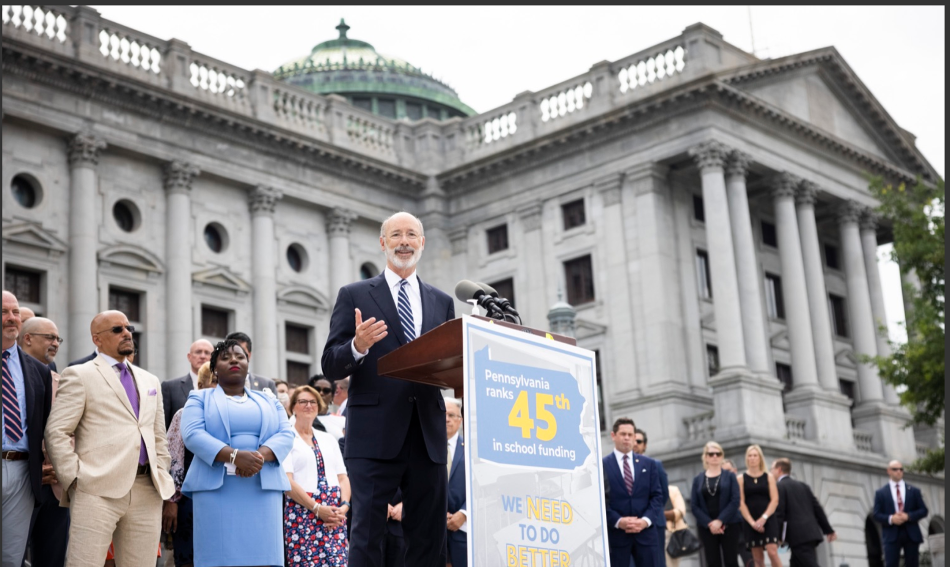 Democrats in Pennsylvania see 'unprecedented' solution to education funding woes