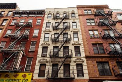 FILE - NY Manhattan apartments 3-13-2016