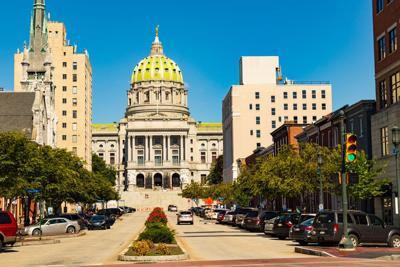 FILE - Pennsylvania State Capitol
