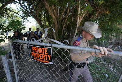 Immigration Texas State Troopers