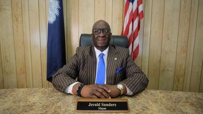 FILE - Swansea Mayor Jerald Sanders