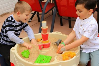 FILE - Kindergarten, child care