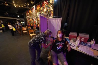 Virus Outbreak Louisiana Vaccine Hesitancy