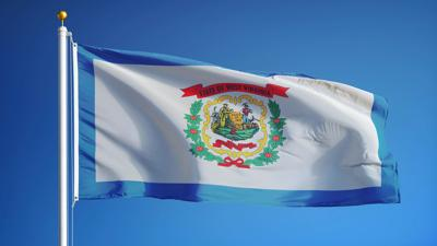 FILE - West Virginia state flag