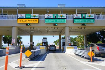 FILE - Florida toll road