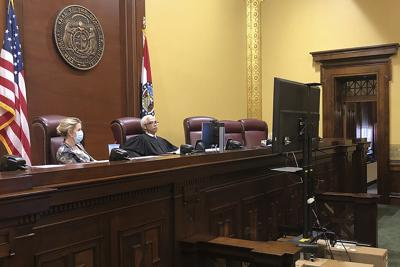 FILE - Supreme Court of Missouri, Missouri, Virus Outbreak Court Transparency
