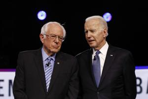 Six states set to vote Tuesday as Biden leads Sanders in national polling