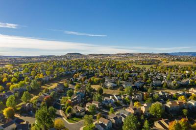 FILE - Castle Rock, Colorado Neighborhood
