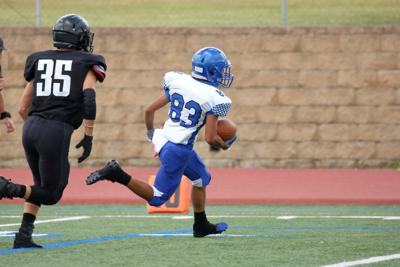 FILE - High school prep football