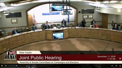 Wisconsin Election Hearing