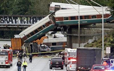 FILE — Washington Amtrak derailment