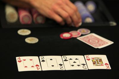 FILE - Poker, gambling, casino
