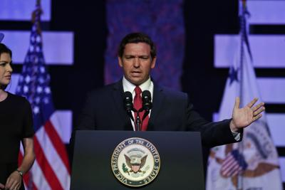 FILE - Florida Gov. Ron DeSantis