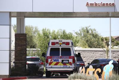 FILE - Arizona ambulance