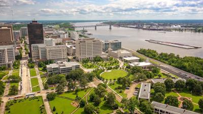 FILE - Baton Rouge Mississippi River