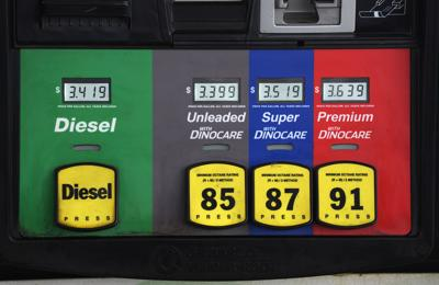 FILE - Gas Prices-Inflation