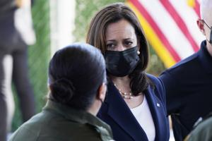 Critics: VP Harris is going to wrong part of border