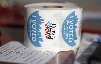 FILE - Colorado Election Voting