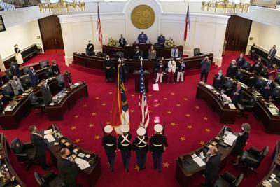 FILE - North Carolina Senate floor