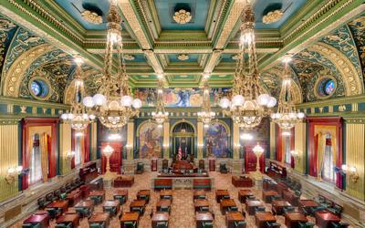 FILE - Pennsylvania Senate