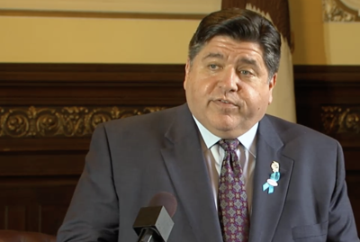 FILE - Gov. J.B. Pritzker, May 15, 2019