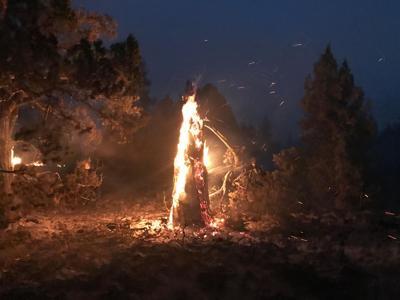 FILE —Bootleg Fire night