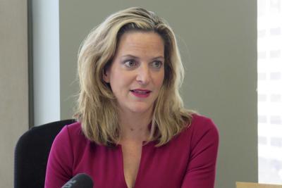 FILE - Michigan Secretary of State Jocelyn Benson