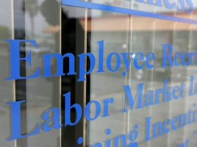 FILE -- Nevada employment office