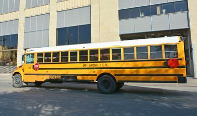 FILE - San Antonio School Buss