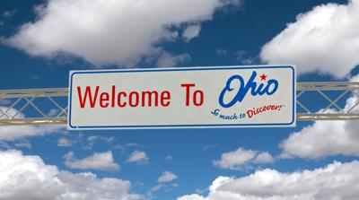 FILE - OH Welcome sign