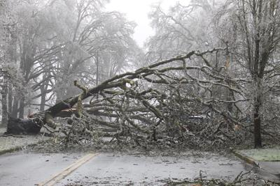 FILE — Oregon ice storm