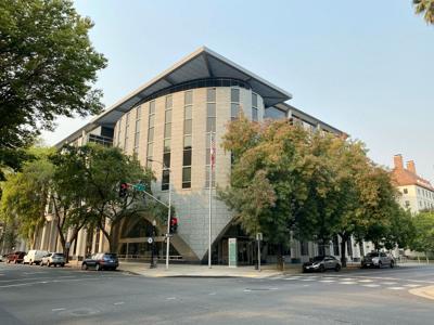 Sacramento,,Ca,-,October,3,,2020:,Exterior,View,Of,Department