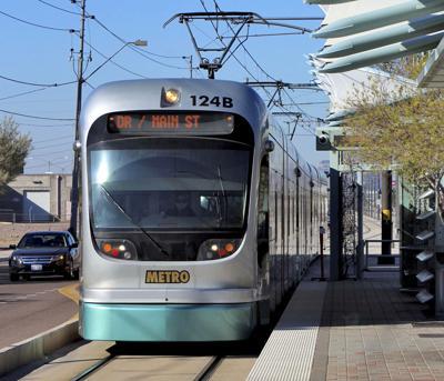 FILE - Phoenix Light Rail Ballot Initiative
