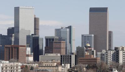 FILE - Denver Skyline