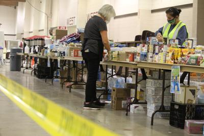 FILE —Marion County evacuee shelter